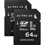 Angelbird 64GB Match Pack for the Panasonic GH5 & GH5S (2 x 64GB)