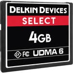 Delkin Devices 4GB Select UDMA 6 CompactFlash Memory Card