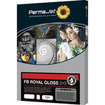 PermaJetUSA Fiber Base Royal Gloss 310 Baryta Paper (A2, 25 Sheets)