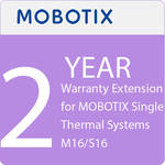 MOBOTIX 2-Year Warranty Extension for MOBOTIX Single Thermal Systems M16/S16