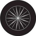 Rosco Glass Gobo/ Spikes Crop Circle (Custom Size)