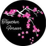 Rosco Forever Blossoms 2-Color Wedding Glass Gobo (Custom Size)
