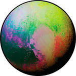 Rosco Psychedelic Pluto Color Breakup Glass Gobo (A Size)