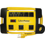 CyberPower HD Power Strip, 8-Grounded Outlets with 6'Cord / Metal Housing