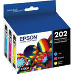 Epson Claria 202 Standard-Capacity Ink Cartridge Color Combo Pack (Cyan, Magenta, Yellow)