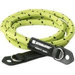 Artisan & Artist ACAM-701 Pin-Dot Cord Strap (Yellowgreen/Black, Standard)