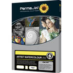 PermaJetUSA Artist Watercolour 250 Textured Fine Art Paper (A2, 25 Sheets)