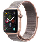 Apple Watch Series 4 (GPS Only, 40mm, Gold Aluminum, Pink Sand Sport Loop)