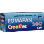 Foma Fomapan 200 Creative Black and White Negative Film (120 Roll Film)