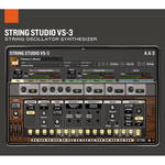 Applied Acoustics Systems String Studio VS-3 - String Modeling Synthesizer (Download)