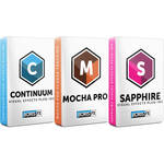 Boris FX Sapphire 2019 + Continuum 2019 + Mocha 2019 for Avid Bundle (Annual Subscription, Download)