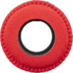 Bluestar Viewfinder Eyecushion - Round, Extra Large, Ultrasuede (Red)
