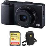 Compare Canon G5 X Mark II vs Ricoh GR III vs Ricoh GR II