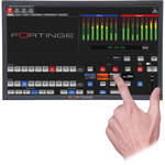 "Fortinge 15.6"" Touchscreen Monitor"