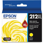 Epson T212 High Capacity Yellow Ink Cartridge with Sensormatic
