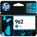 HP 962 Cyan Original Ink Cartridge