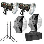 Photogenic StudioMax III 2-Light Basic Studio Kit (120V AC)