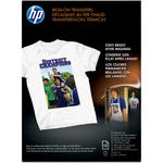 "HP Iron-on Transfer Paper 8.5x11"" - 12 Sheets"