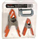 Adjustable Clamp Company C and Pony Clamp Set - Set of 6