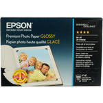 "Epson Premium Glossy Photo Paper - 4x6"" Borderless - 100 Sheets"