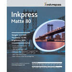 "Inkpress Media Print Plus Heavyweight Matte Paper (2-Sided) - 24"" Wide Roll - 100' Long"
