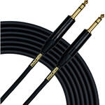 "Mogami Gold 1/4"" Phone Male TRS to 1/4"" Phone Male TRS Stereo Cable - 3'"