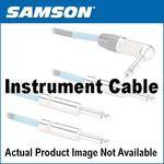 "Samson 1/4"" Male to 1/4"" Male Instrument Cable (Pair, 1')"