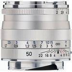 Zeiss 50mm f/2 ZM Lens - Silver