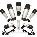 Samson 8-Piece Drum Microphone Kit