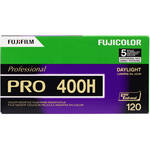 Fujifilm Pro 400H 120 Professional Color Negative (Print) Film - 5 Rolls