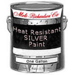 Mole-Richardson Heat Resistant Silver Paint for Aluminum Reflectors - 1 Gallon