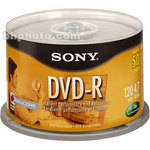Sony 4.7 GB DVD-R (50 Discs)