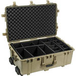 Pelican 1654 Waterproof 1650 Case with Dividers (Desert Tan)