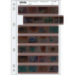 Print File Archival Storage Page for Negatives, 35mm - 25 Pack