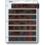 Print File 35mm Archival Storage Pages for Negatives, (25 Pack)