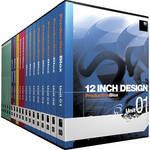 12 Inch Design Blox Complete - ProductionBlox, PowerBlox and ThemeBlox Bundle - NTSC
