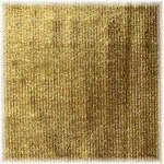 Matthews RoadFlag Fabric, Gold Lame- 48x48""