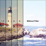 Tiffen Filter Wheel 1 Combination Color Conversion 85 /Neutral Density 0.3 Glass Filter