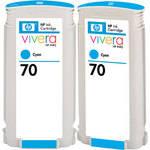 hp-hewlett-packard-hp-70-cyan-ink-cartridge-twin-pack
