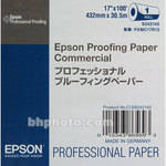 "Epson Commercial Proofing Paper - 17"" Wide Roll - 100' Long"