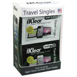 iKlear Apple Polish Travel Singles - 2 Step Wet/Dry, Model iK-SP12