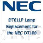NEC DT01LP Lamp Replacement for the NEC DT100