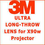 3M 63.5 - 117.4mm  Ultra Long Throw Projection Lens
