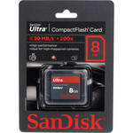 SanDisk 8GB CompactFlash Memory Card Ultra 200x