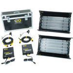 Kino Flo 4Bank System Interview Two Light Kit (120VAC)
