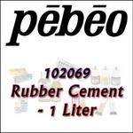 Pebeo 102069 Rubber Cement - 1 Liter