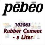 Pebeo 102063 Rubber Cement - 5 Liter