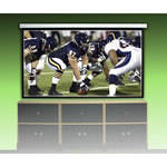 "Sima Model SMS-120, Motorized Front Projection Screen - 120"" Viewing Area - HDTV Format (16:9 Aspect Ratio) (Dual White/Gray)"
