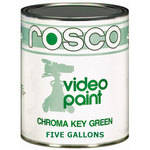 Rosco Chroma Key Paint, Green - 5 Gallons (19 L)