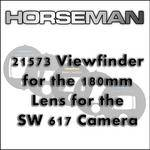 Horseman 21573 Viewfinder for the 180mm Lens for the SW 617 Camera